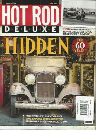 Hot Rod Deluxe Magazine - Issue 2018-07 July 2018